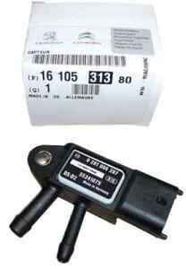 PEUGEOT Origineel Druksensor uitlaatgasdruk sensor Alfa Fiat Peugeot 1610531380 (1610531380)