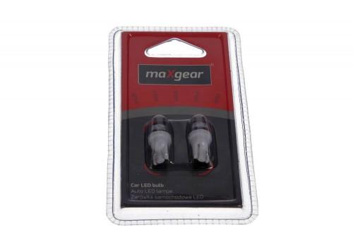 MAXGEAR Auto LED lamp 12V/5W (wit) W2.1*9.5D (78-0163set) MAXGEAR (78-0163set)