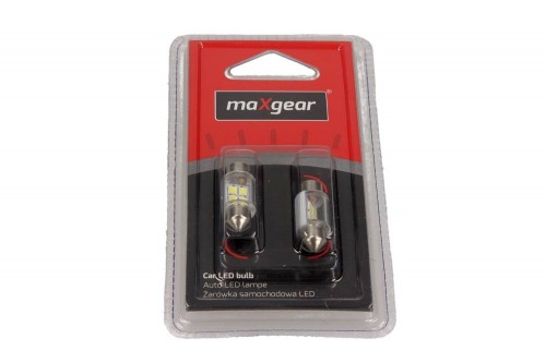 MAXGEAR Auto LED lamp 12V/5W (buis) 11X31MM SV8.5 (78-0173SET) MAXGEAR (78-0173SET)
