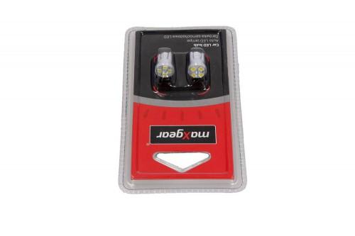 MAXGEAR Auto LED lamp 12V/5W W2.1*9.5D (78-0166SET) MAXGEAR (78-0166SET)
