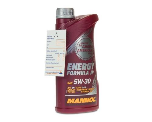 Mannol MANNOL ENERGY FORMULA JP 1L 5W-30 KIA NISSAN MITSHUBISHI HONDA TOYOTA HYUNDA (MN7914-1) Mannol (MN7914-1)