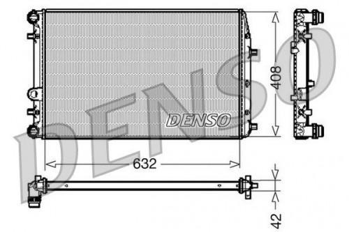 DENSO DENSO Radiateur (DRM26011) (DRM26011)