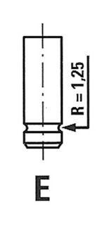 FRECCIA Uitlaatklep (R6091/RCR) FRECCIA (R6091/RCR)