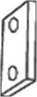 BOSAL BOSAL Rubberstrip, uitlaatsysteem (255-199) (255-199)