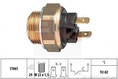 EPS Temperatuurschakelaar, radiateurventilator