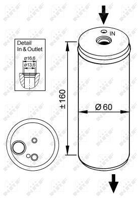 NRF Droger, airconditioning (33114) NRF (33114)