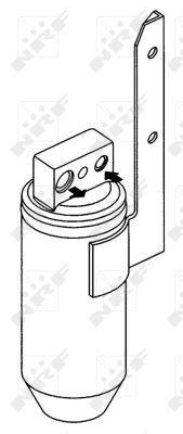 NRF Droger, airconditioning (33172) NRF (33172)