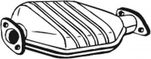 BOSAL Katalysator (099-684) BOSAL (099-684)