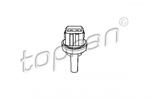 TOPRAN Temperatuurschakelaar, aircoventilator (111 037) TOPRAN (111 037)