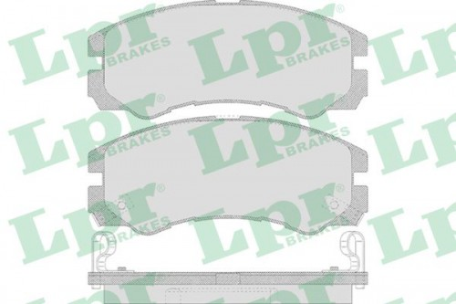 LPR Remblokken set (05P658) LPR (05P658)