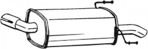 BOSAL Einddemper (185-279) BOSAL (185-279)
