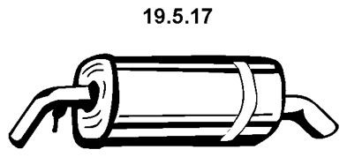 EBERSPÄCHER EBERSPÄCHER Einddemper (19.5.17) (19.5.17)