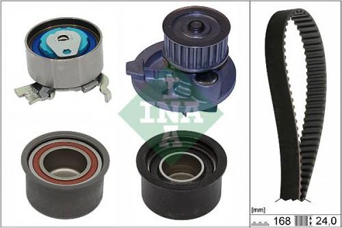 Waterpomp + distributieriem set INA