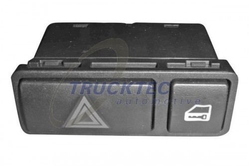 TRUCKTEC AUTOMOTIVE Waarschuwingsknipperlamp schakelaar (08.42.016) TRUCKTEC AUTOMOTIVE (08.42.016)
